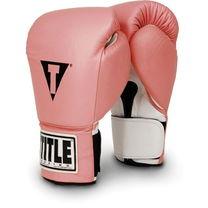 Снарядные перчатки Boxing Super Title розовые