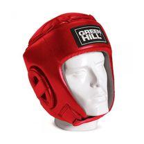 Шлем боксерский Green Hill Glory кожзам (HGG-9046, красный)