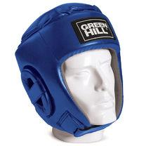 Шлем боксерский Green Hill Glory кожзам (HGG-9046, синий)