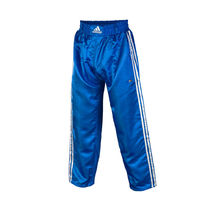 Штаны для кикбоксинга Adidas Contact Pants (ADIPFC01, синие)