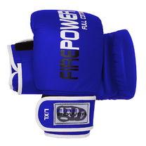 Снарядные кожаные перчатки FirePower (FPTG1, синие)