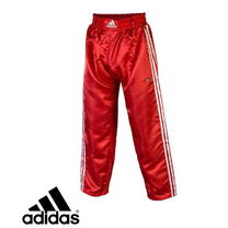 Штаны для кикбоксинга Adidas Contact Pants (ADIPFC01, красные)