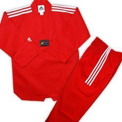 Добок для тхэквондо Adidas Champion (JWA2021, красный)