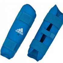 Защита голени Adidas (661.25NZ, синяя)