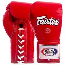 Профессиональные боксерские перчатки Fairtex (BGL6-rd, Красный)
