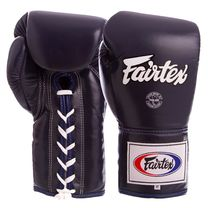 Профессиональные боксерские перчатки Fairtex (BGL6-bl, Синий)