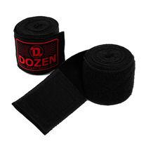 Боксерские бинты полуэластичные Dozen Monochrome Semi-elastic Hand Wraps (218277679, Черный)