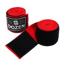Боксерские бинты полуэластичные Dozen Monochrome Semi-elastic Hand Wraps  (216247198, Красный)
