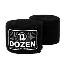 Боксерские бинты эластичные Dozen Monochrome Ultra-elastic Hand Wraps (216252213, Черный)