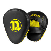 Лапы Dozen Monochrome Training Focus Mitts (пара) (223620142, Черный)
