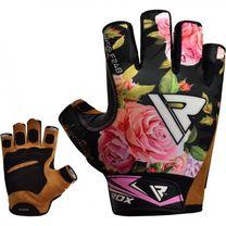 Перчатки для фитнеса женские RDX F24 (40278, черные)