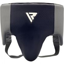 Профессиональная защита паха RDX Leather Pro Blue