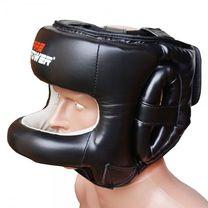 Боксерский шлем с бампером FirePower (FPHGA7-BK, черный)