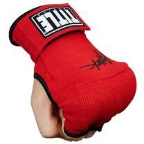 Бинт-перчатки TITLE Boxing Attack Nitro Speed Wraps (Title-ASPWR2-RD-BK, Красный)