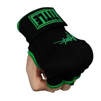 Бинт-перчатки TITLE Boxing Attack Nitro Speed Wraps (Title-ASPWR2-BK-GN, Черный)
