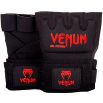 Бинт-перчатки Гелевые VENUM Kontact Gel Glove Wraps  (VENUM-0181-100, Черный)