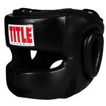 Боксерский шлем TITLE Classic Face Protector 2.0 (Title-CTFP2-BK, Черный)