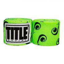 Бинты боксерские эластичные TITLE Boxing Mexican (Title-SMHWP-XL-AV,  Зеленые)