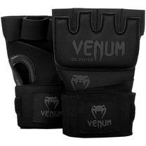 Бинт-перчатки Гелевые VENUM Kontact Gel Glove Wraps (VENUM-0181-114, Черный)