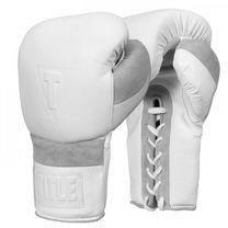 Боксерские перчатки TITLE WHITE Lace Sparring 2.0 (Title-WHSG2, Белый)