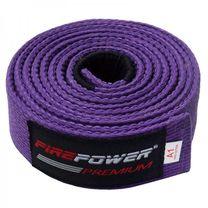 Пояс для Бразильского Джиу-Джитсу FirePower Premium (fp-premium-bjj-belt-pl, Фиолетовый)