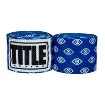 Бинты боксерские эластичные TITLE Boxing Mexican (Title-SMHWP-XL-EV,  Синие)