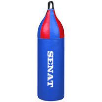 Мішок боксерський шоломовидний 70х21 шкірзам Синій SENAT