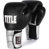 Тренировочные перчатки TITLE Platinum Paramount (PPTGE, черные)