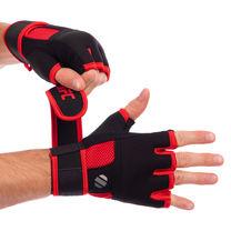 Перчатки-бинты внутренние гелевые из неопрена UFC Contender (UHK-69412, черный)