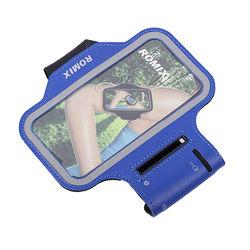 Універсальний наручний чохол з сенсорним екраном 5.5 ROMIX (RH07-5.5BL, синій)