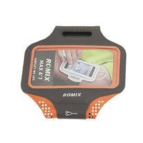 Ультратонкий влагостойкий наручный чехол с сенсорным экраном 5.5 ROMIX (RH18-5.5OR, Оранжевый)