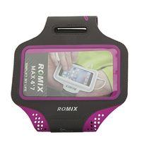 Ультратонкий влагостойкий наручный чехол с сенсорным экраном 5.5 ROMIX (RH18-5.5P, розовый)