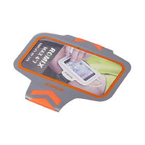 Ультратонкий отражающий наручный чехол с сенсорным экраном ROMIX (RH17-4.7OR, Оранжевый)