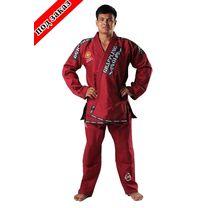 Кимоно для джиу-джитсу Berserk Sport GI Grappling PREMIER red (GI1451R, Красный)