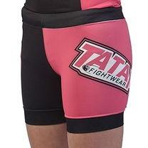 Шорты компрессинные Tatami Gen X Vale Tudo Shorts Black & Pink