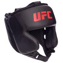 Шлем боксерский в мексиканском стиле PU UFC (UHK-69759, черный)