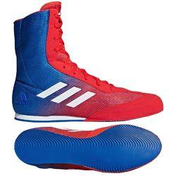 Обувь для бокса Боксерки Adidas Box Hog PLUS (DA9896, красно-синие)