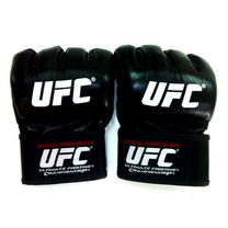 Рукавички ММА UFC (UFC-MGUF1-BK, Чорний)