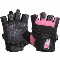 Рукавиці для фітнесу жіночі RDX Pink