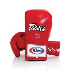 Професійні боксерські рукавички Fairtex (BGL6-rd, Червоний)