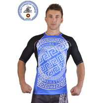 Рашгард for pankration APPROVED WPC blue