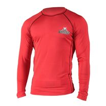 Рашгард Gameness Top Dog Red Long Sleeve Rash Guard