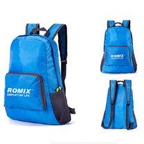 Складной портативный рюкзак для путешествий ROMIX (RH27BL, синий)