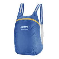 Складной портативный рюкзак ROMIX (RH30BL, синий)