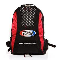 Сумка-рюкзак спортивная Fairtex (BAG4, Черно-красный)