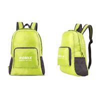 Складной портативный рюкзак для путешествий ROMIX (RH27GN, зеленый)