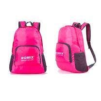 Складной портативный рюкзак для путешествий ROMIX (RH27P, розовый)