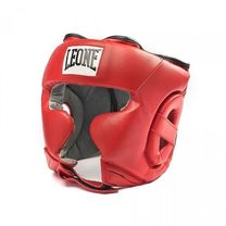 Боксерский шлем Leone Training Red