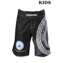 Шорти для ММА дитячі Berserk Sport PANKRATION approved WPC KIDS black (SH7681B, Чорний)