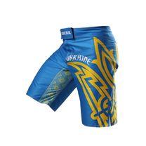 Шорти для ММА Berserk Sport HETMAN blue (SH5430Bl, Синьо-жовтий)